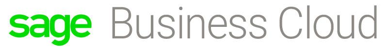 Sage Business Cloud Mercuria